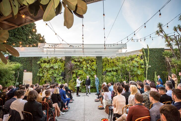 Smog Shoppe Courtyard Ceremony