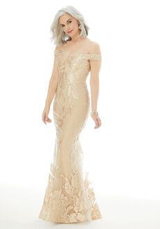 MGNY 72216 Champagne Mother Of The Bride Dress