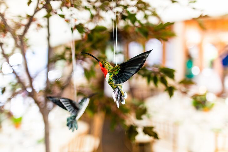 Hanging Hummingbird Decor