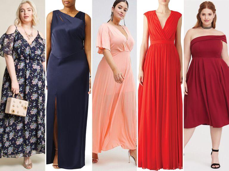 5b582da76e 55 Affordable Bridesmaid Dresses That Don t Look Cheap
