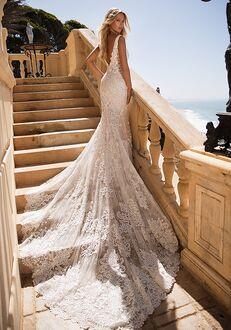 Moonlight Couture H1378 Mermaid Wedding Dress
