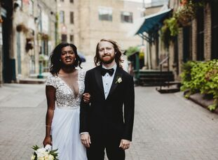 "Ashley Johnson (27 and a senior program evaluator) and Daniel (""Danny"") Ryan (27 and a senior software engineer) met in college. For their post-grad w"