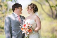 While most couples have at least year to plan their wedding, Lydia Garcia and Todd Coolidge had only three months. The pair had