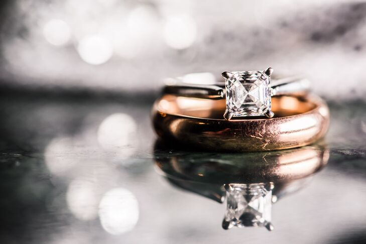"""""""We had never gone ring shopping but he had picked out exactly what I would have wanted,"""" says Chantley."""