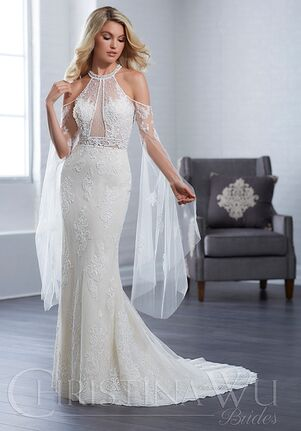 Christina Wu 15650 Sheath Wedding Dress