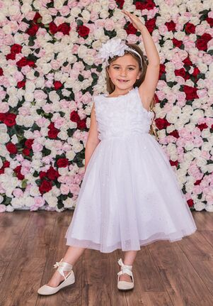 Kid's Dream 486 Pink Flower Girl Dress