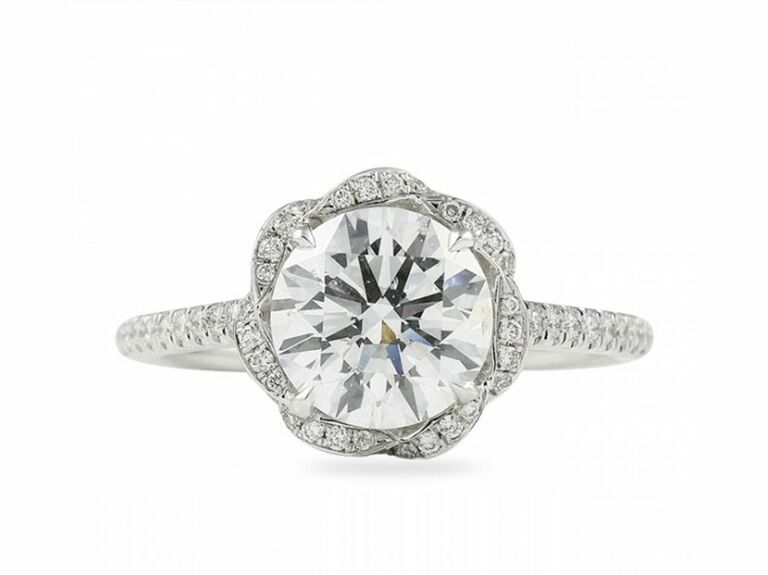 Lauren B vintage engagement ring