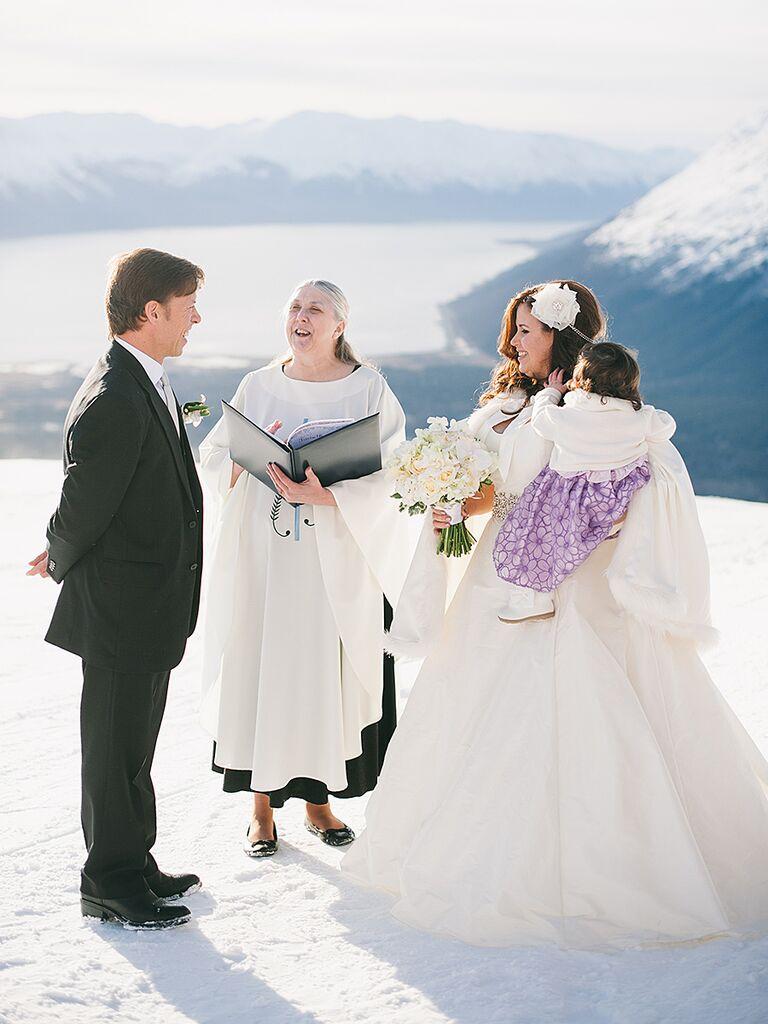 The Most Beautiful Mountainside Wedding Locations Alyeska Resort In Girdwood Alaska