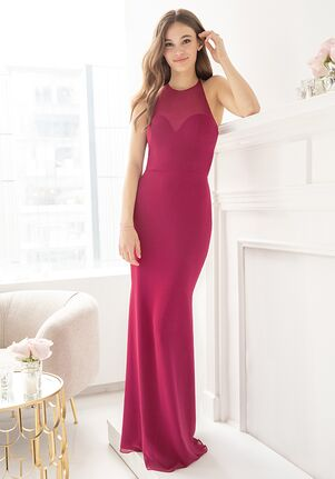 Hayley Paige Occasions 5909 Illusion Bridesmaid Dress