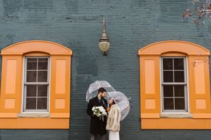 Romantic Winter Wedding in Ann Arbor, Michigan