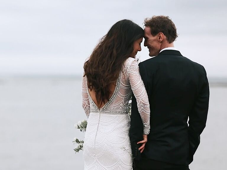 Happy Camper Films wedding video screen grab