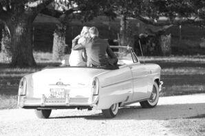 Vintage Car Exit at Gruene Estate