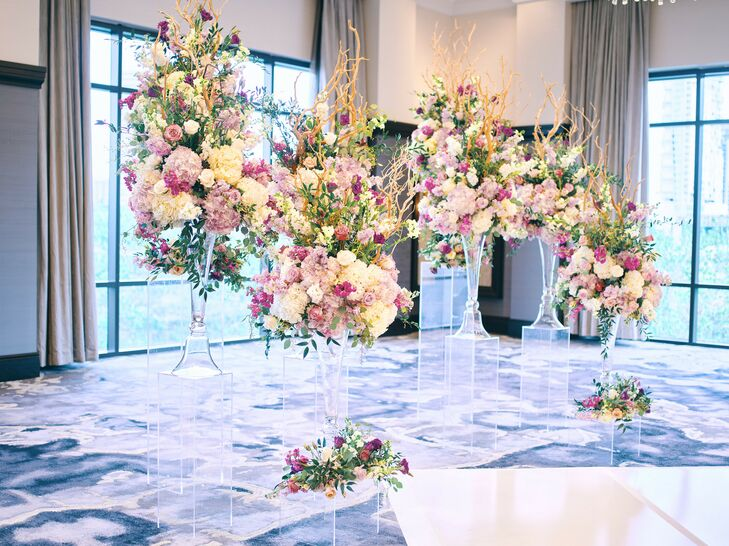 Altar Flowers at Post Oak Hotel at Uptown in Houston, Texas