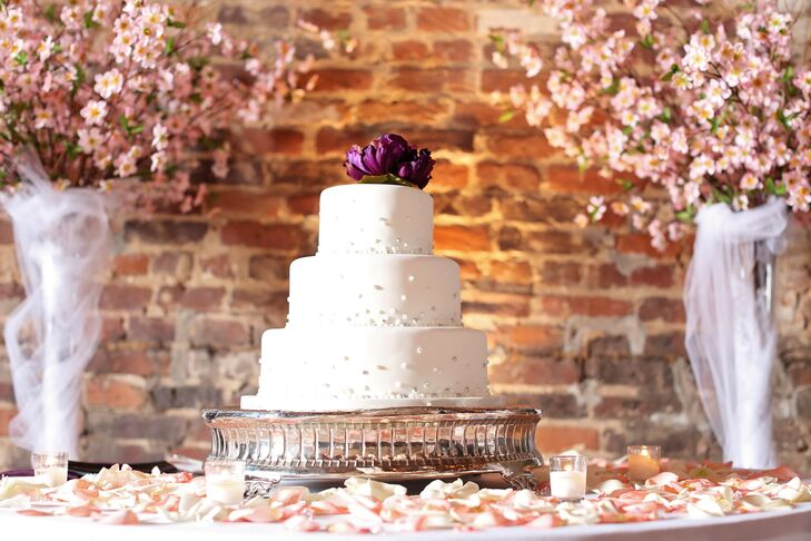 Cherry Blossom Cake Table Backdrop