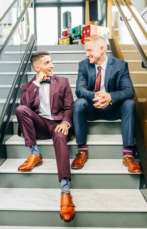 Same-Sex Wedding Portraits at Neo on Locust in St. Louis, Missouri
