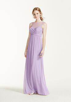 David's Bridal Collection David's Bridal Style F15927 Illusion Bridesmaid Dress