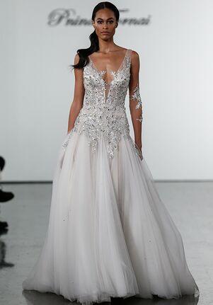 Pnina Tornai for Kleinfeld 4734 Sheath Wedding Dress