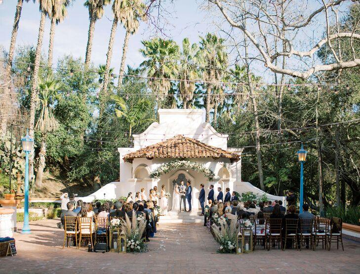 Outdoor Wedding Ceremony at Rancho Las Lomas in Silverado, California