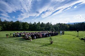 Outdoor Mountain View Ceremony