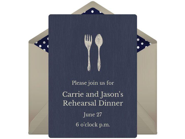 5 online invitation vendors we love digital rehearsal dinner invitation stopboris Images
