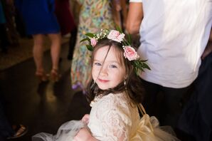 Ivory Tutu Flower Girl Dress