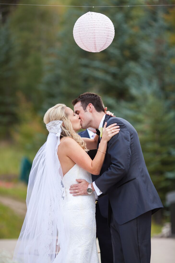 Ashley and Brett First Kiss
