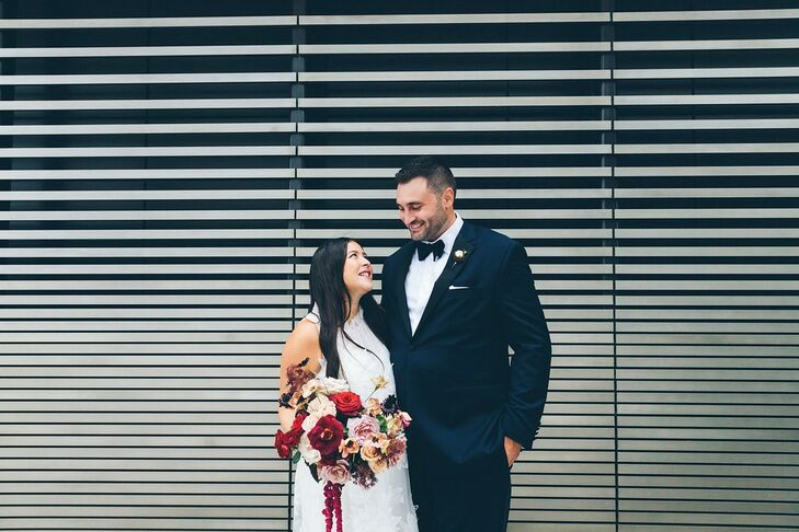 As New York City residents with family scattered throughout the tri-state area, Crystal Wang and Michael Komar chose to get married in Asbury Park, Ne