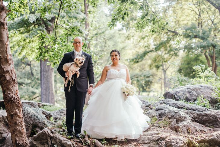 Michelle Castillo (29 and a journalist) and Thorsten Schier (32 and a journalist) fell in love in a mosh pit, so it made sense to walk down the aisle