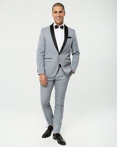 LE CHÂTEAU Wedding Boutique Tuxedos MENSWEAR_359947_910 Grey Tuxedo