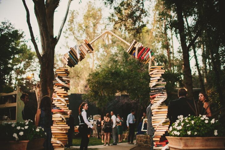Archway Made of Books