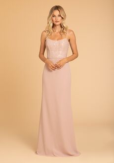 Hayley Paige Occasions 52005 Scoop Bridesmaid Dress