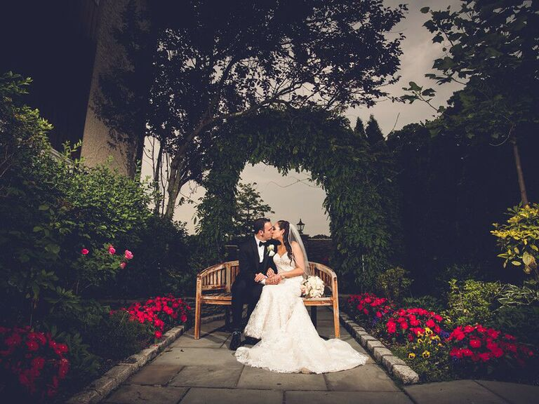 Wedding venue in Woodbury, New York.
