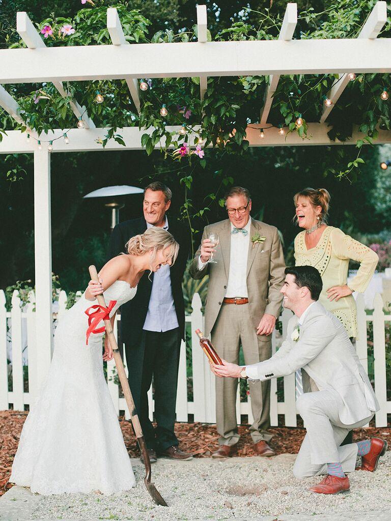 Bourbon burial wedding tradition