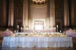 Glamorous Reception at the Andrew W. Mellon Auditorium in Washington D.C.