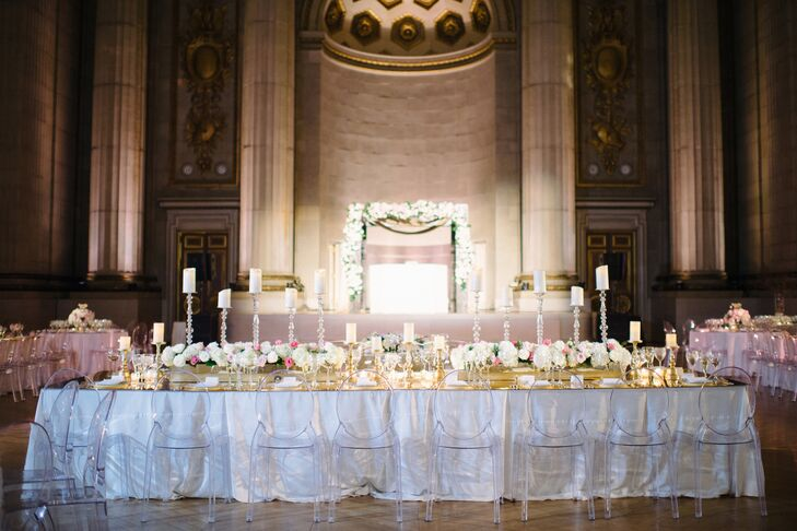 Glamorous Reception at the Andrew W. Mellon Auditorium in Washington D.C.