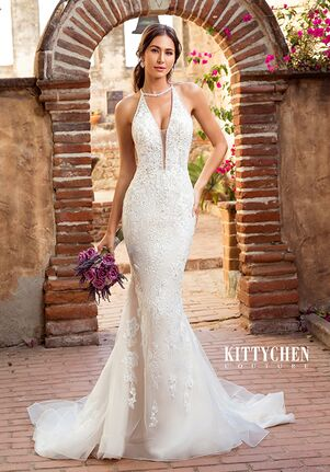 KITTYCHEN Couture KIKI, K1966 Sheath Wedding Dress