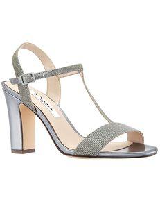 Nina Bridal Scout_Gray/Silver Silver, Gray Shoe