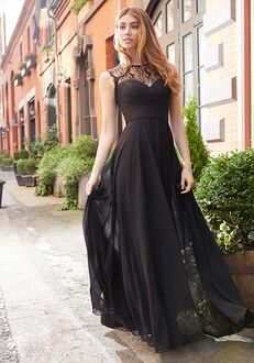 Hayley Paige Occasions 5812 Bateau Bridesmaid Dress