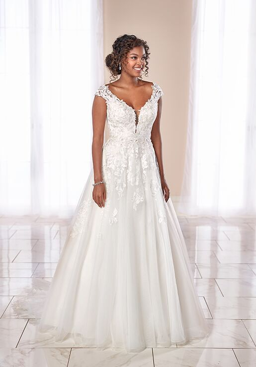 Stella York 6850 A-Line Wedding Dress