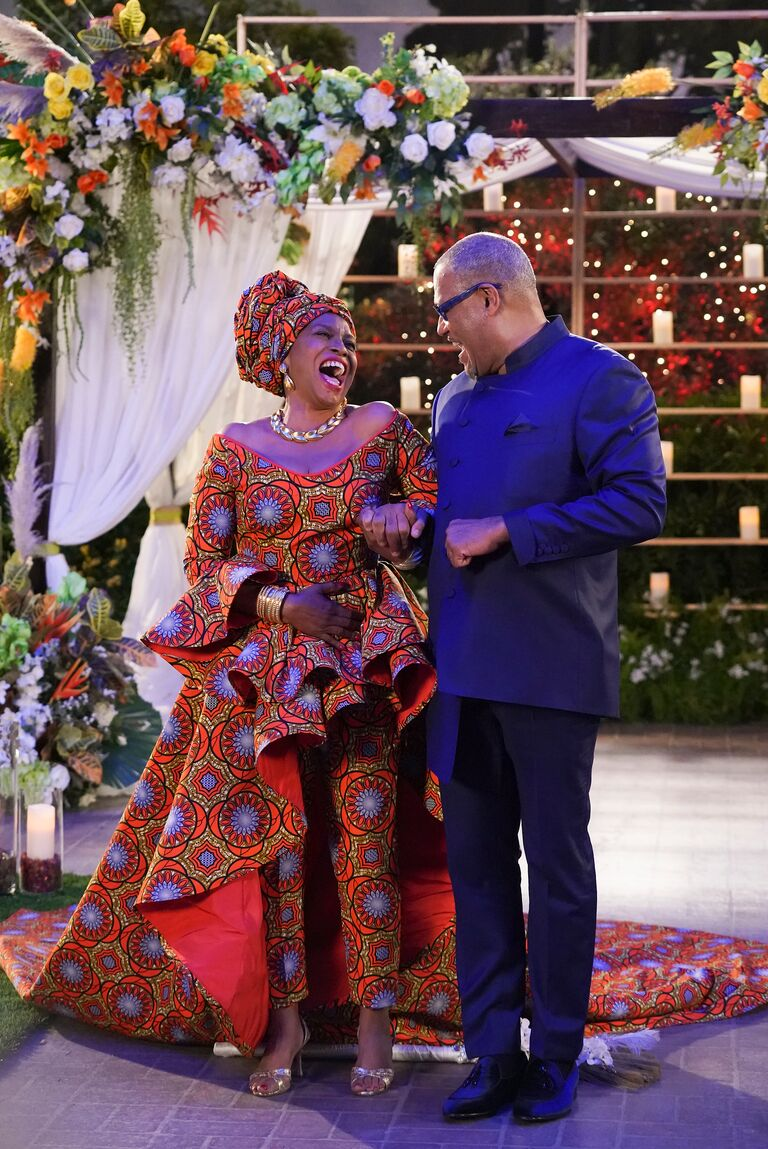 Black-ish wedding JENIFER LEWIS, LAURENCE FISHBURNE