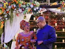 Black-ish wedding JENIFER LEWIS, LAURENCE FISHBURNE