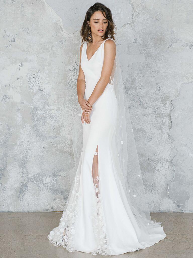 Rime Arodaky Wedding Dresses From Fall 2020 Bridal Fashion Week,Teal Bridesmaid Dresses For Beach Wedding