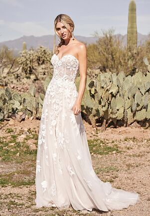 Lillian West 66171 A-Line Wedding Dress
