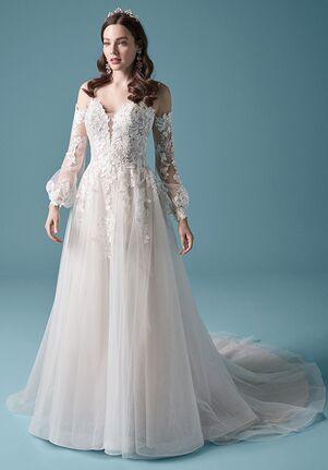 Maggie Sottero STEVIE A-Line Wedding Dress