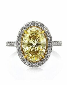 Mark Broumand Glamorous Oval Cut Engagement Ring