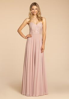 Hayley Paige Occasions 5965 Strapless Bridesmaid Dress