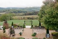 "Ali and Jake ""got married in Charlottesville at Pippin Hill Farm and Vineyards, a winery with sweeping views of Blue Ridge Mountains and the Virginia"