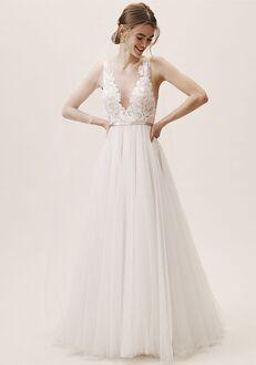 BHLDN Lange Gown A-Line Wedding Dress
