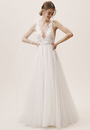 BHLDN Lange Gown A-Line Wedding Dress