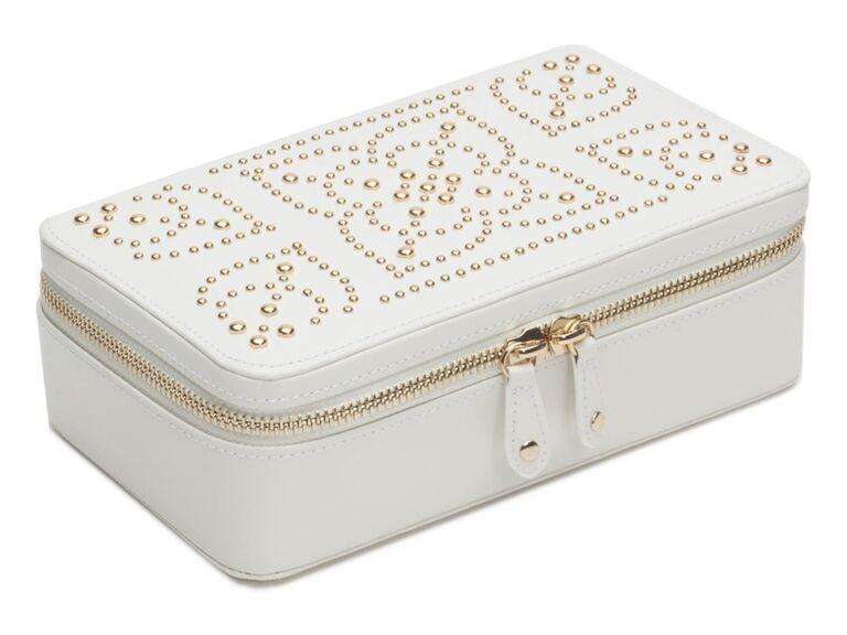 Jewelry case bridal shower gift idea